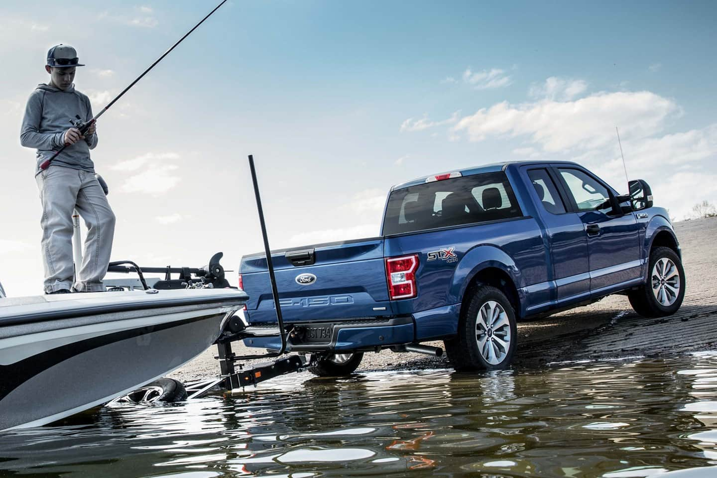 Haul Your Boat With the 2019 Ford F-150!