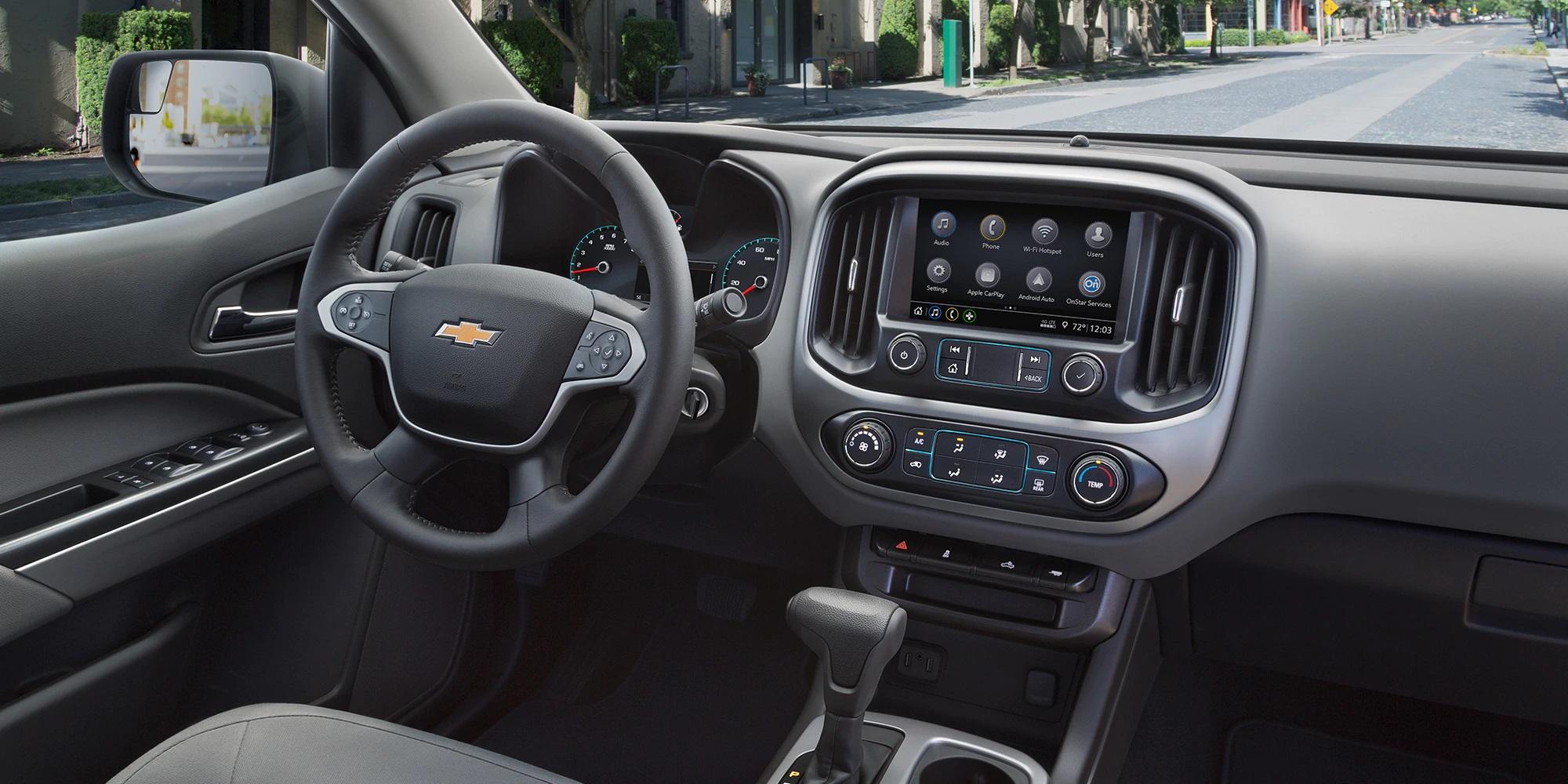La Chevrolet Colorado 2019 cuenta con tecnología y conectividad disponible