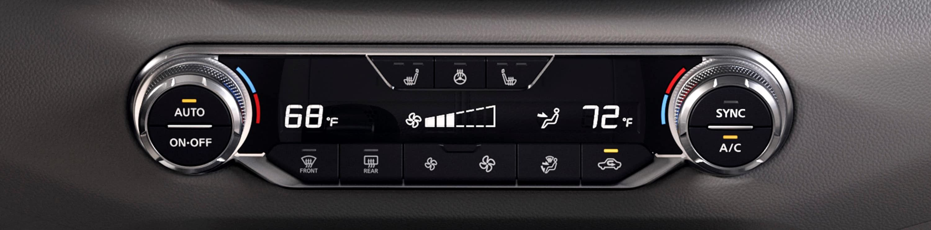 Climate Control System in the 2019 Altima