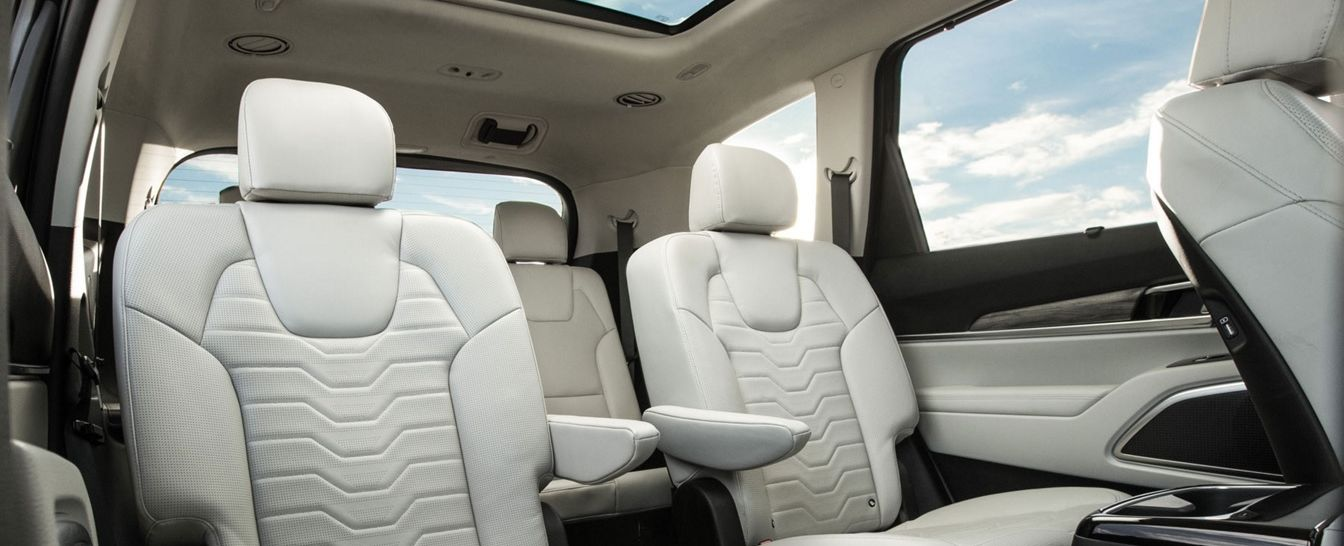 Enjoy Optimum Comfort During Any Drive in the Telluride!