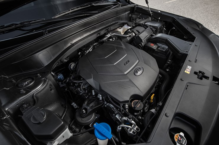 The Telluride's Powerful Engine