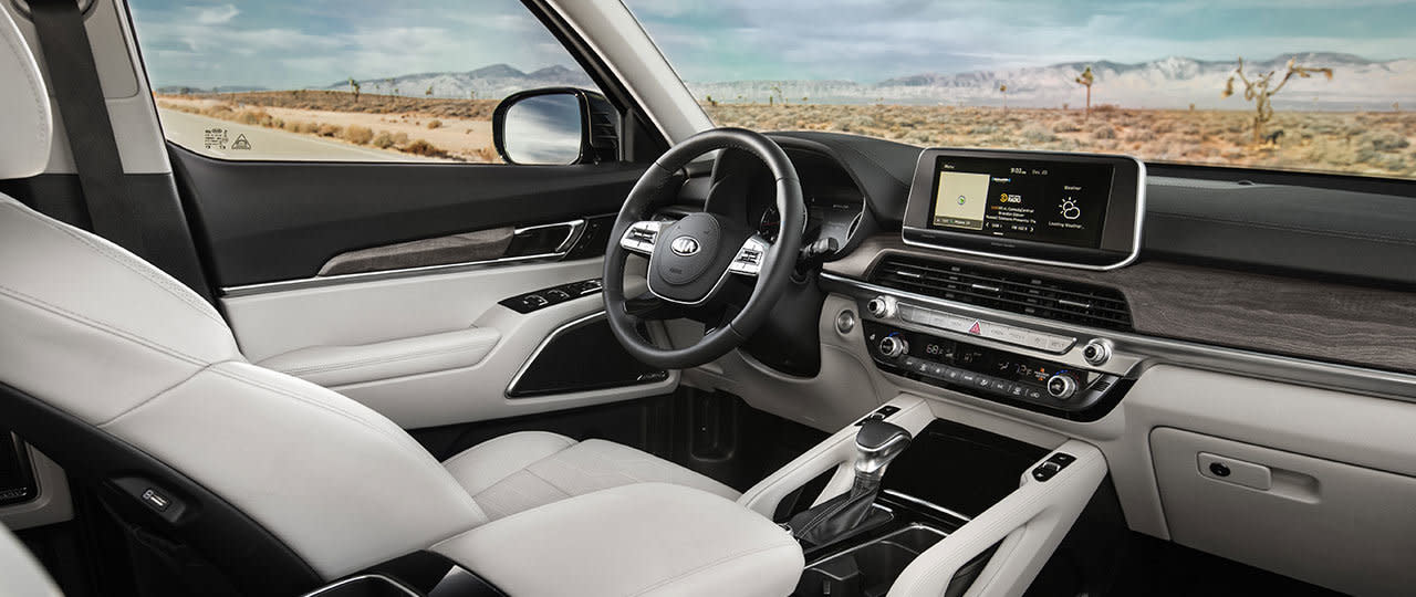 Interior of the 2020 Kia Telluride
