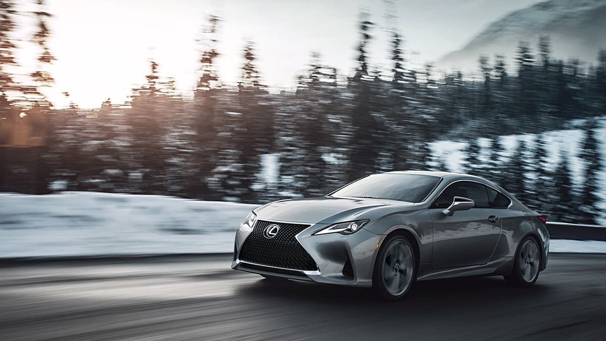 Lexus RC Available with AWD