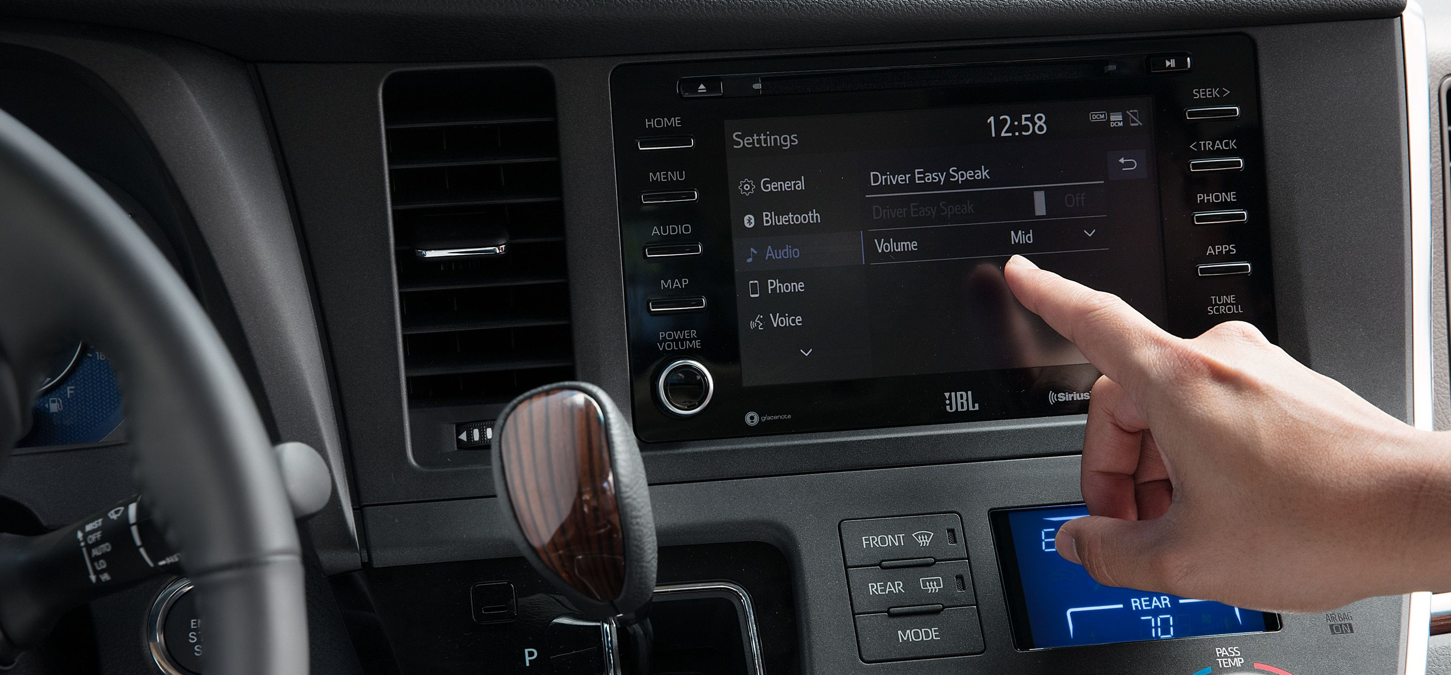 Cutting-Edge Features in the Sienna