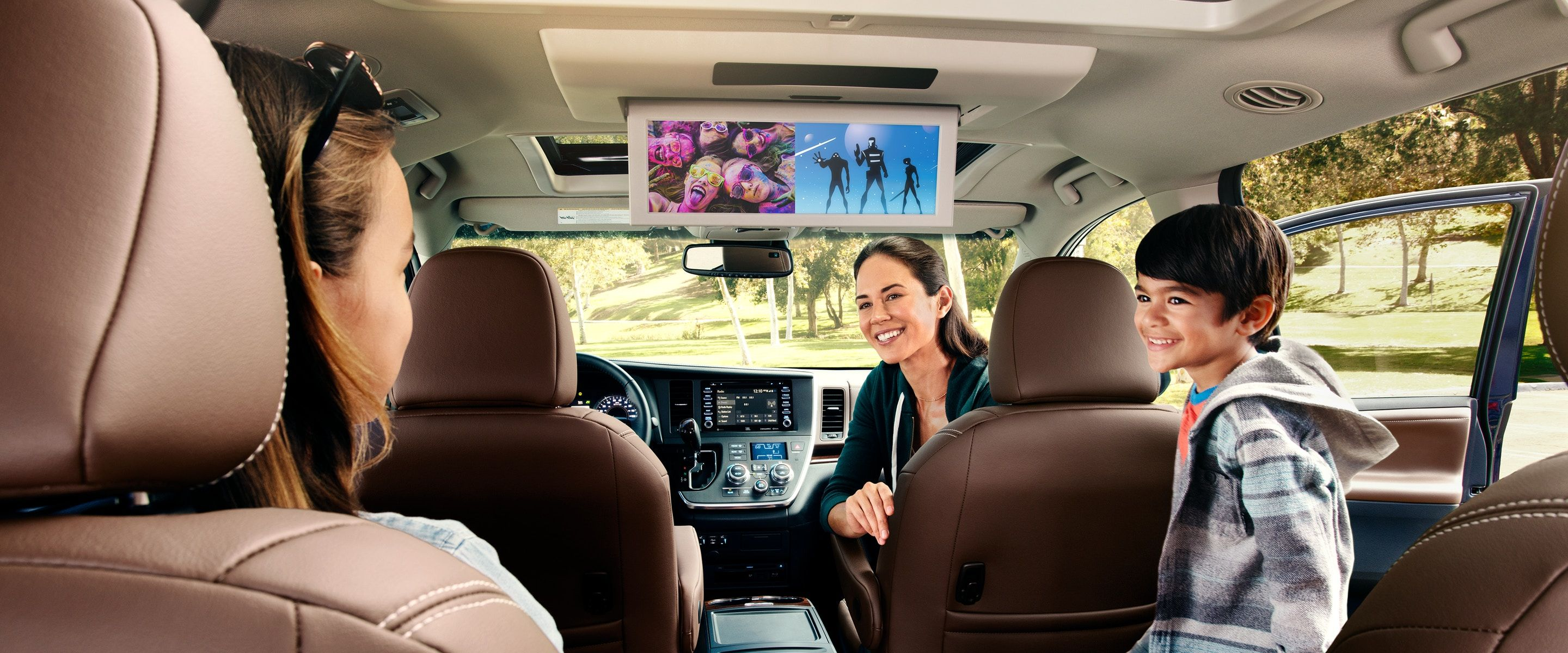 Blu-ray in the 2019 Toyota Sienna