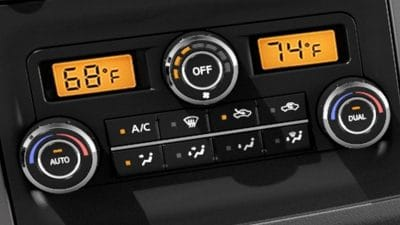 Climate Control the 2019 Nissan Frontier