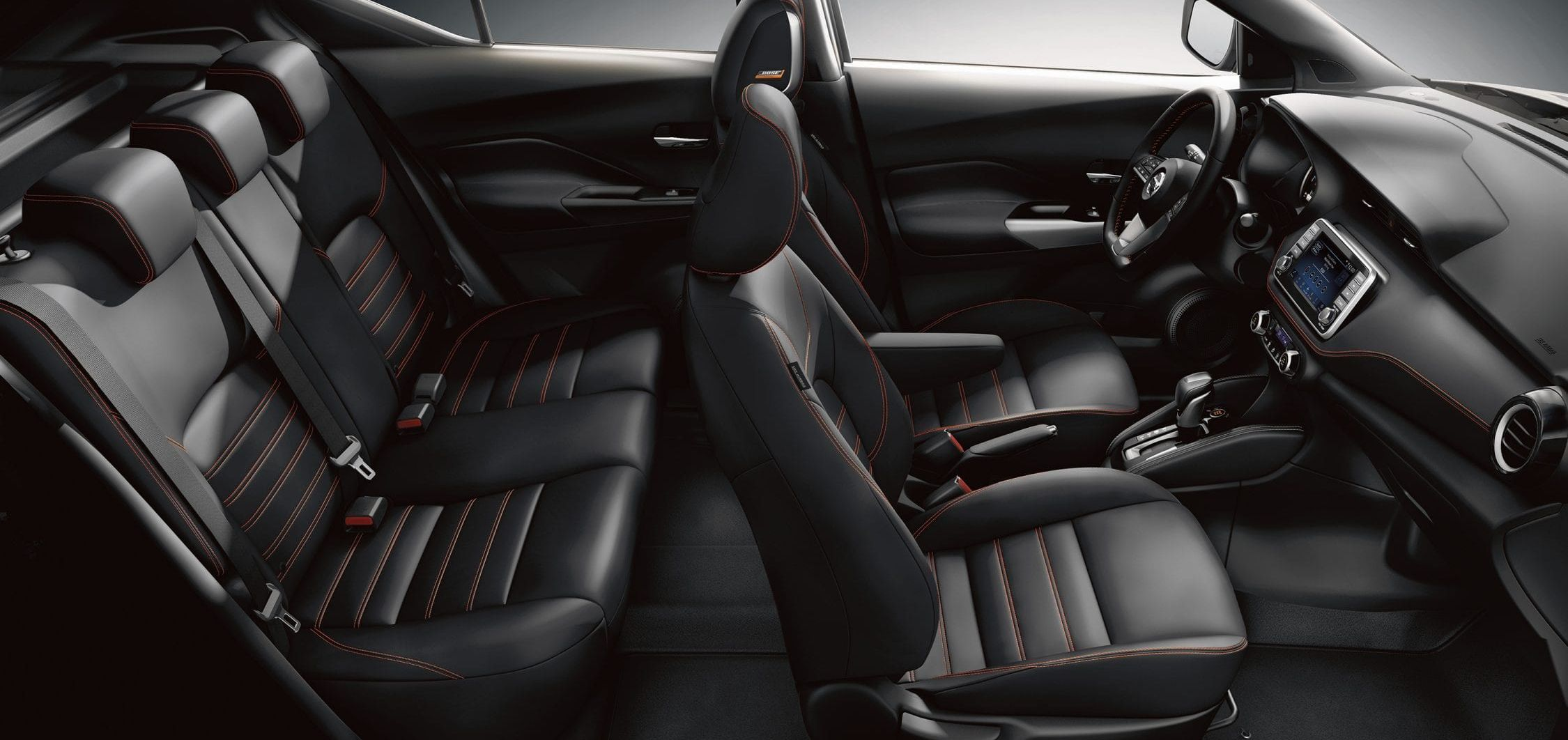 Spacious Interior of the 2019 Nissan Kicks