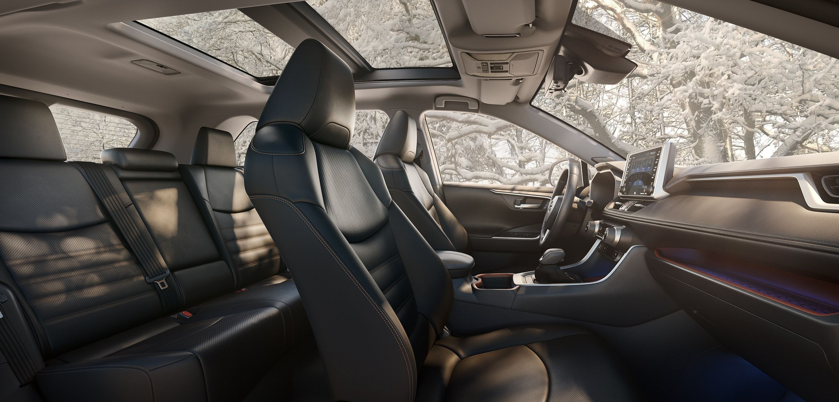 The Spacious Interior of the RAV4