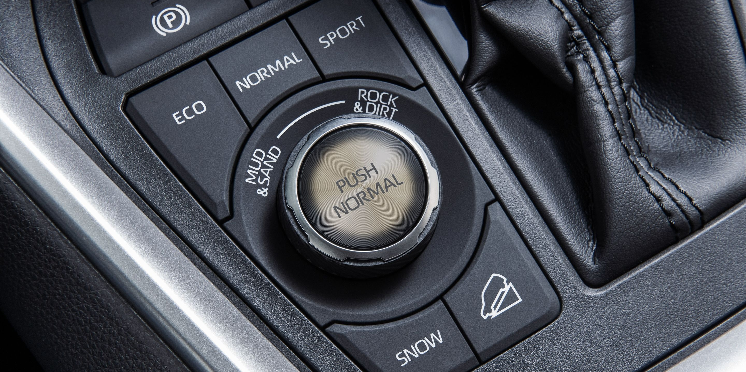 Exciting Drive Modes in the RAV4!
