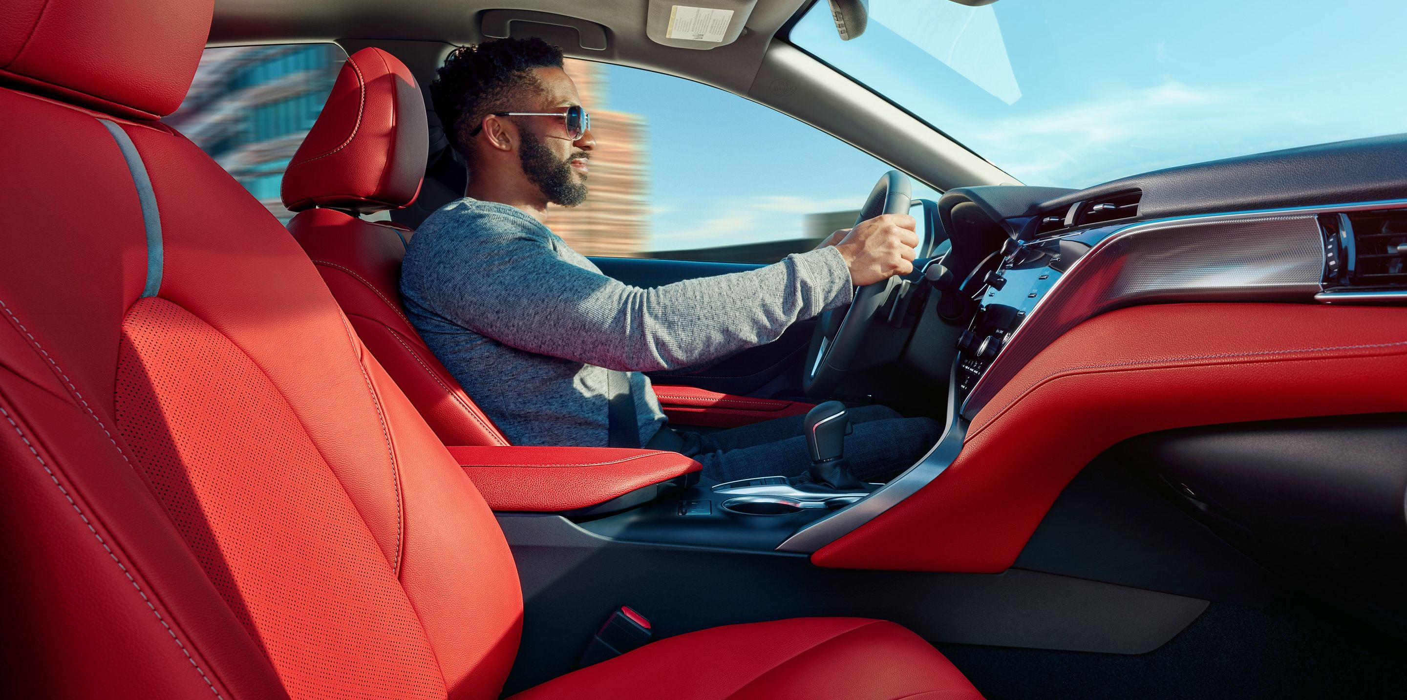 Sporty Seating in the 2019 Camry