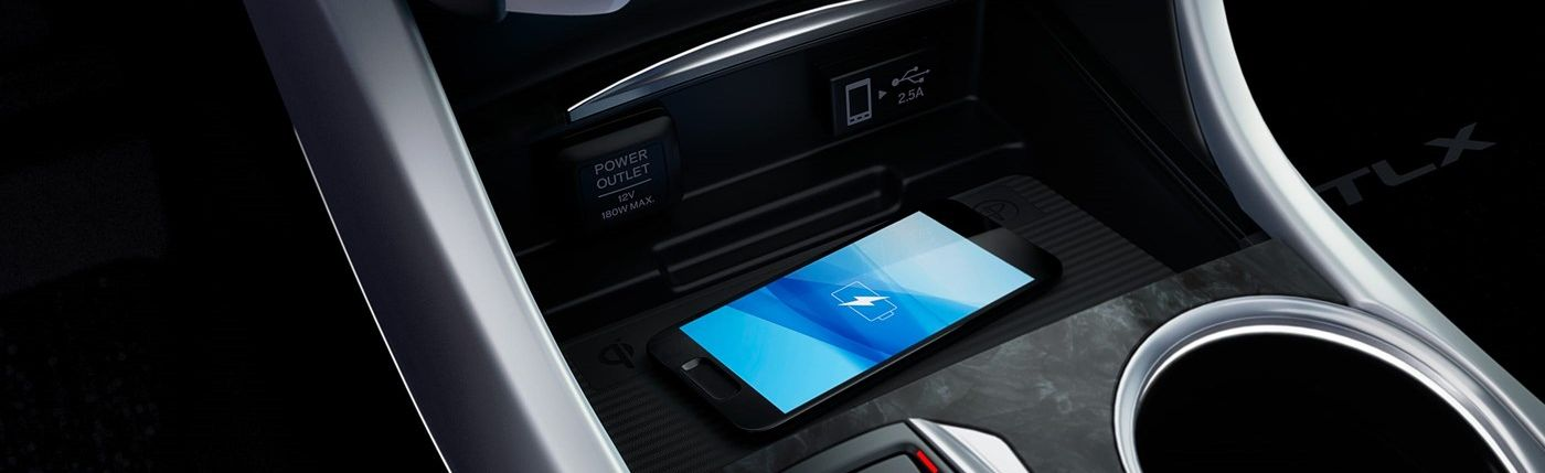 Wireless Charging in the 2019 TLX
