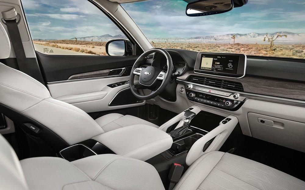 Telluride Roomy Interior Front Seating