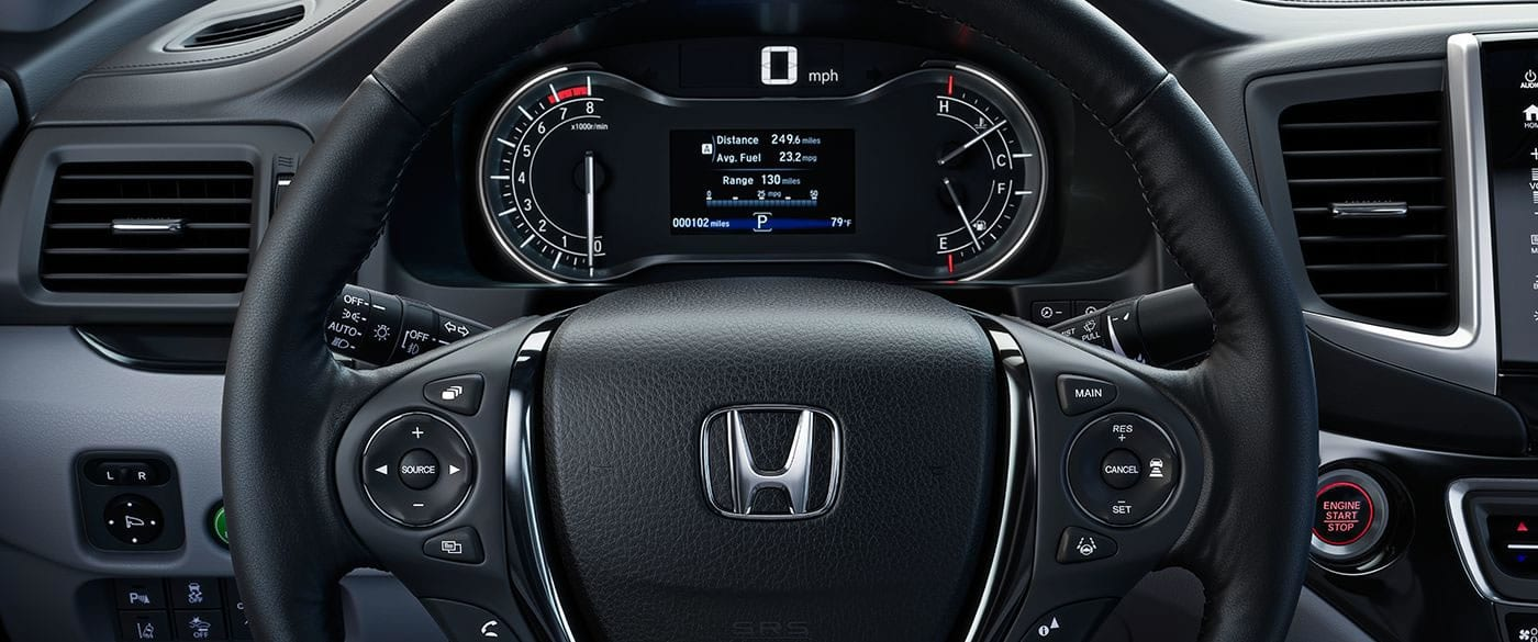 Control Your Audio From the Steering Wheel in the Ridgeline!