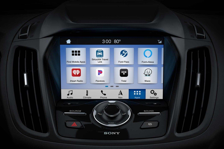 2019 Ford Edge Center Console