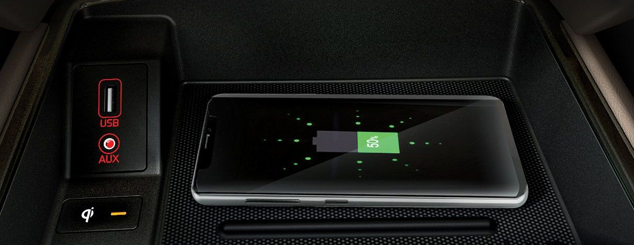 Wireless Charging in the 2019 Sorento