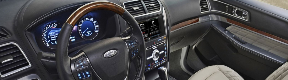 2020 Ford Explorer Center Console