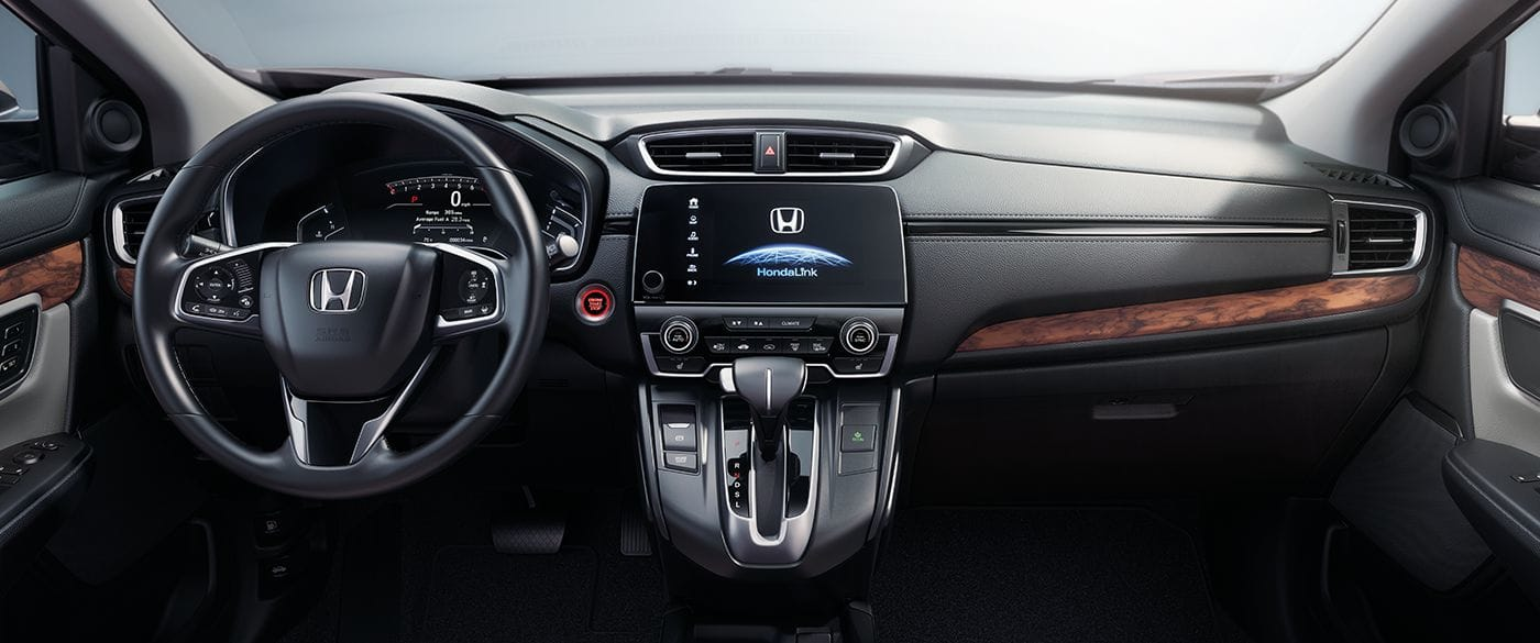 Front Dashboard of the 2019 Honda CR-V