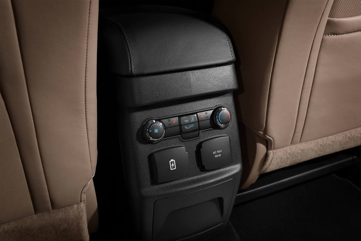 Rear Climate Control in the Explorer