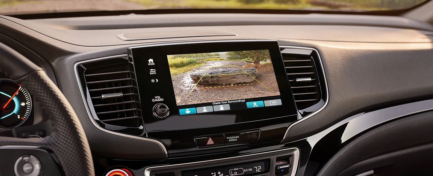 Multi-Angle Rear View Camera in the Passport
