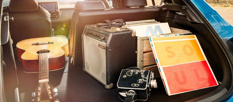Plentiful Cargo Room in the Corolla Hatchback!