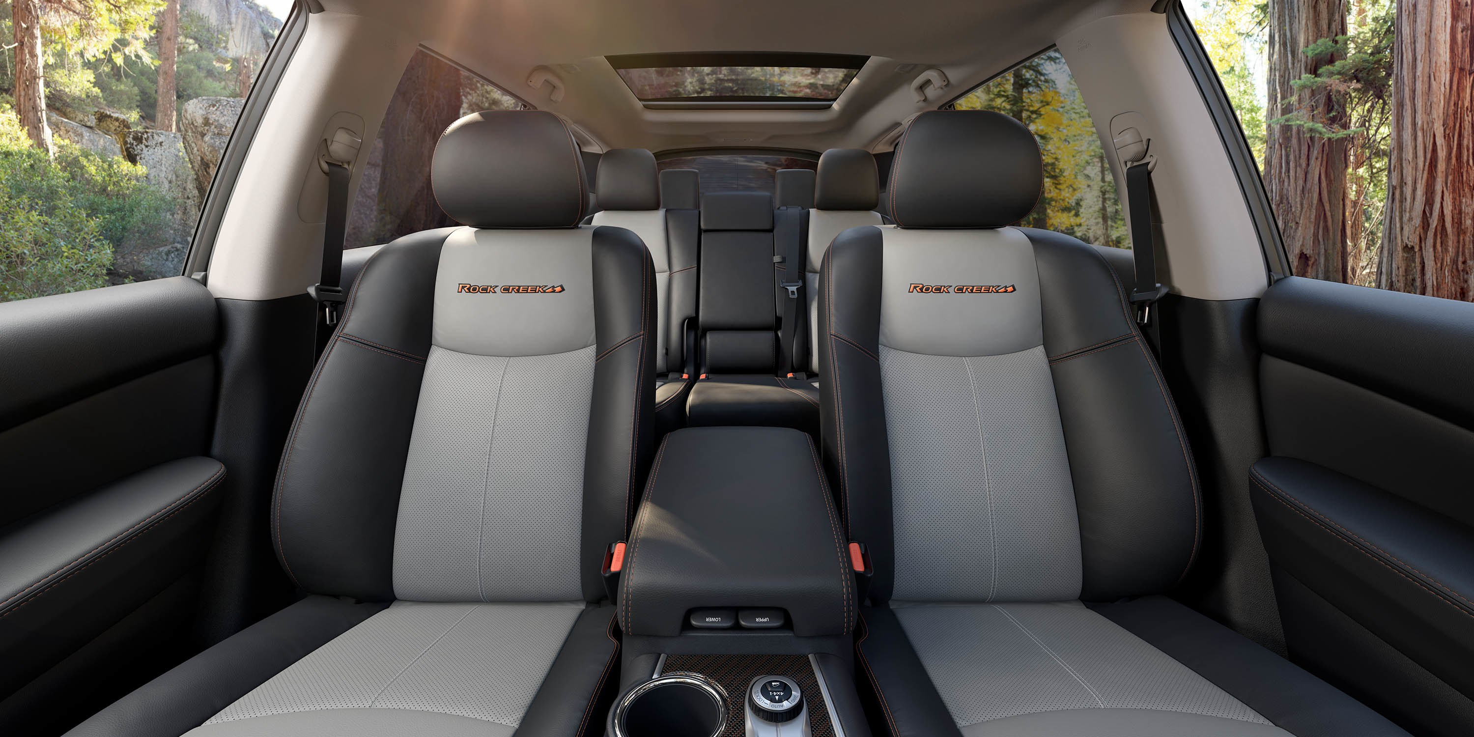 You'll Love the Plush Interior of the Pathfinder Rock Creek Edition!