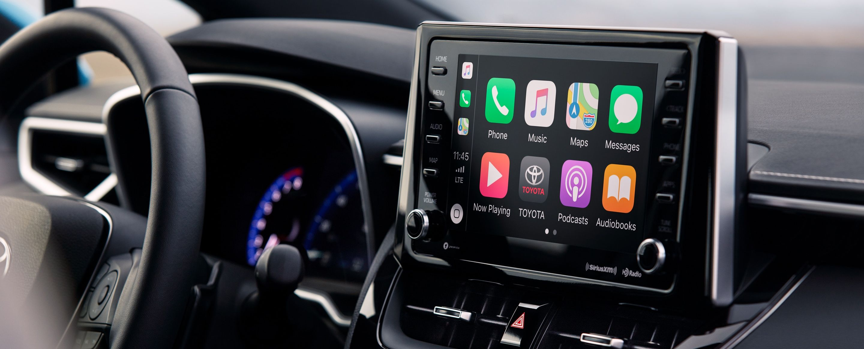 2019 Toyota Corolla Hatchback Touchscreen