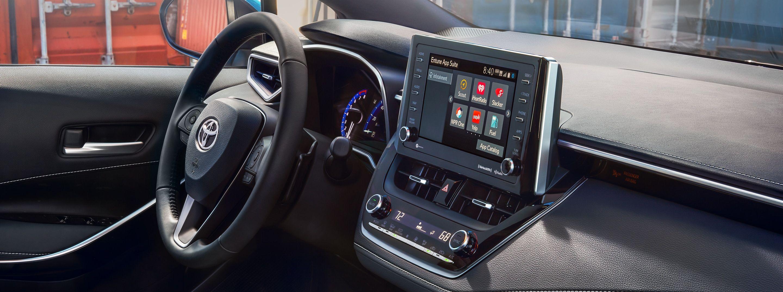 2019 Toyota Corolla Hatchback Dashboard
