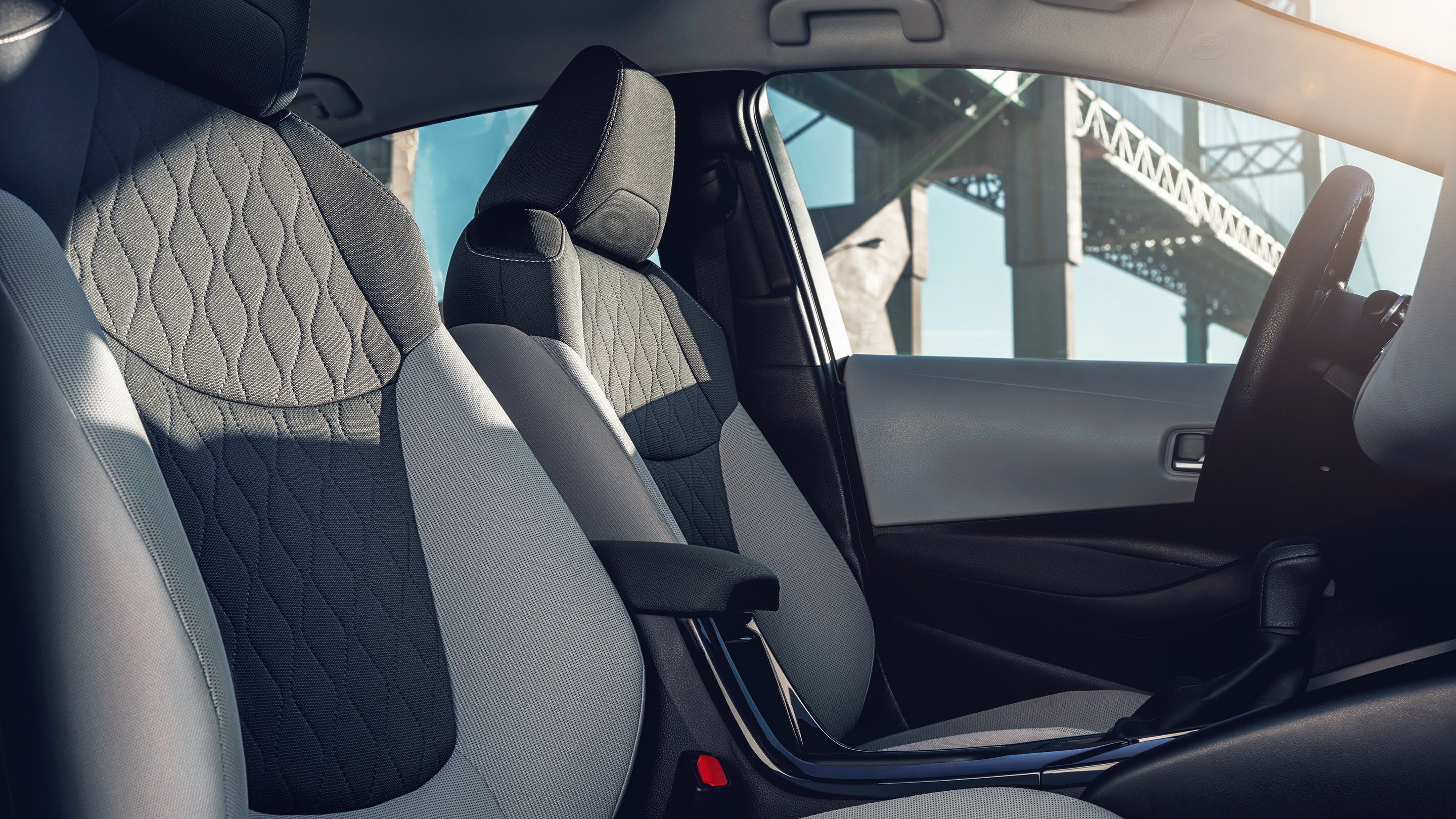 Enjoy Every Drive in the Corolla Hybrid in Comfort!