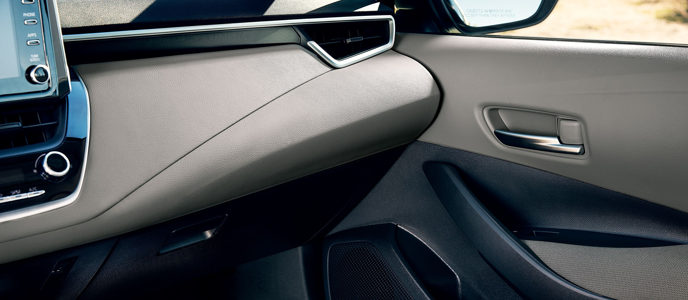 Available Corolla Hybrid Interior