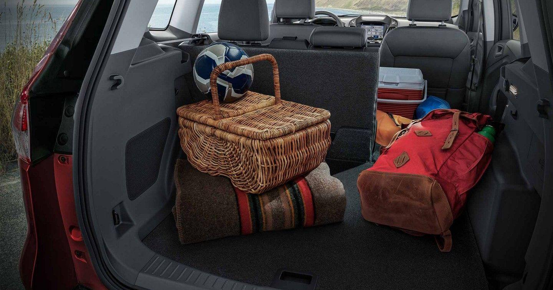 2019 Ford Escape Cargo Capacity