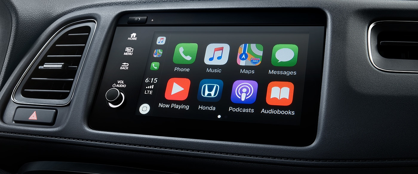 Access All Your Technology Quickly in the HR-V!