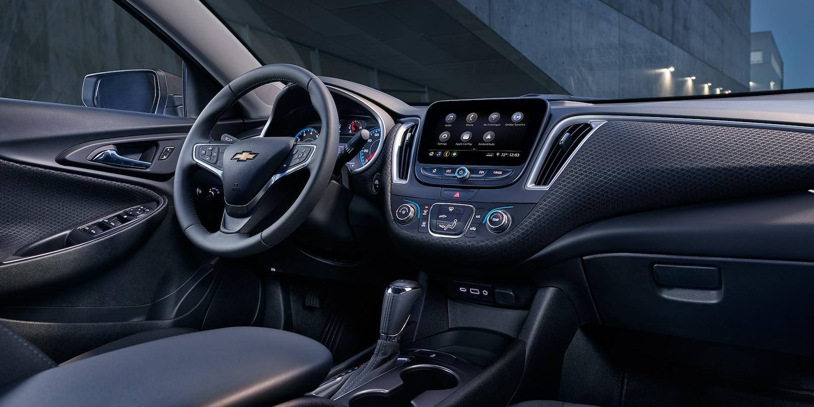 Interior of the 2019 Chevrolet Malibu