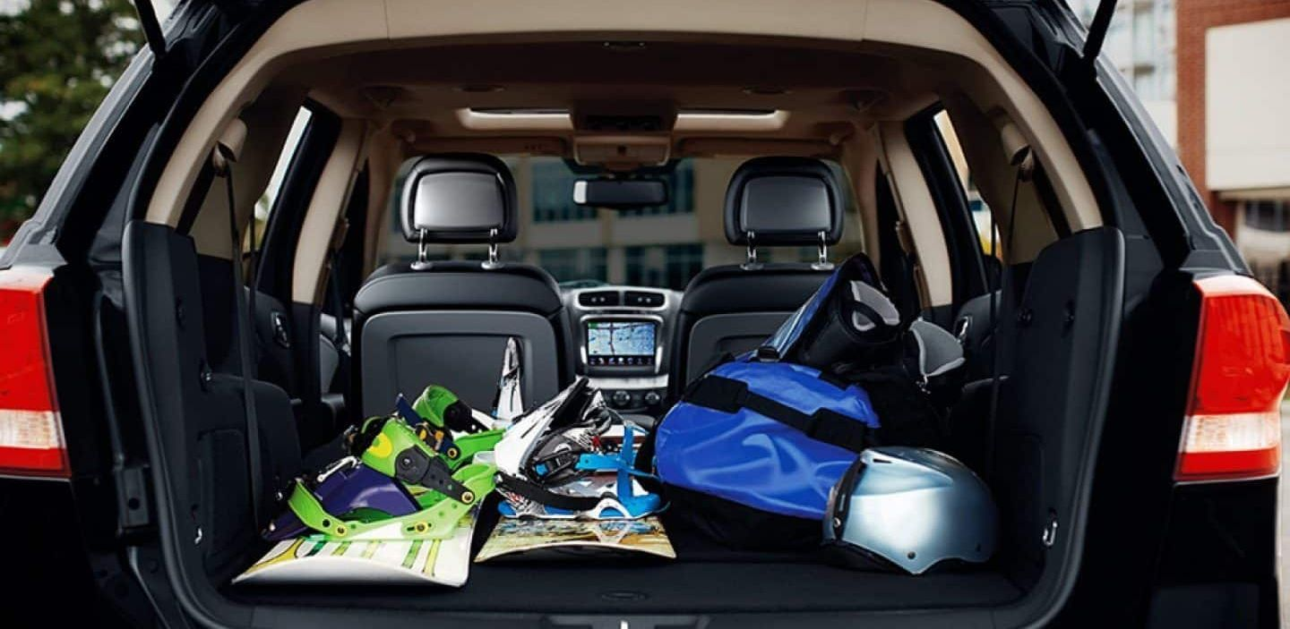 Cargo Area of the 2019 Dodge Journey