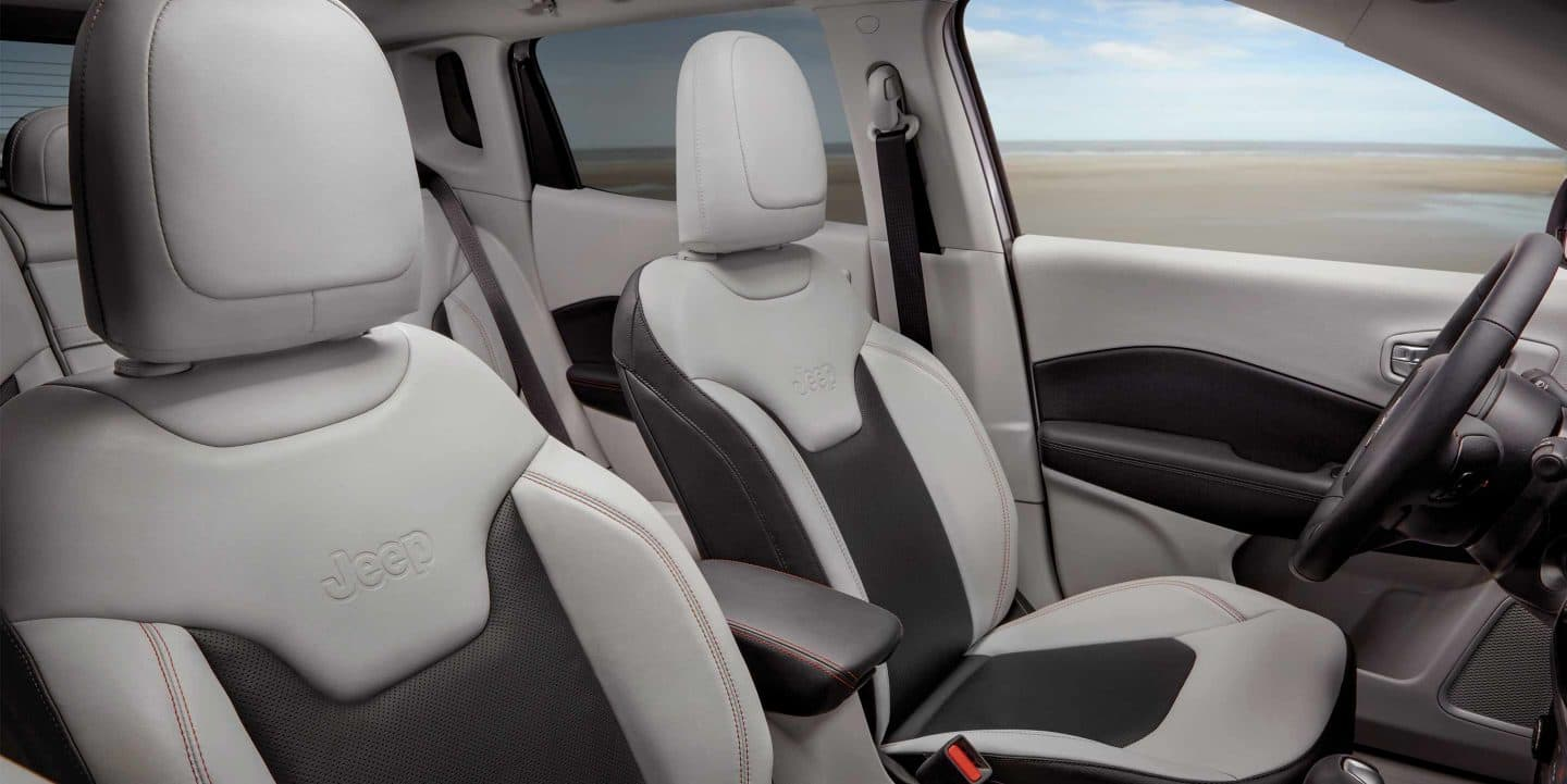 Front Seats of the 2019 Jeep Compass