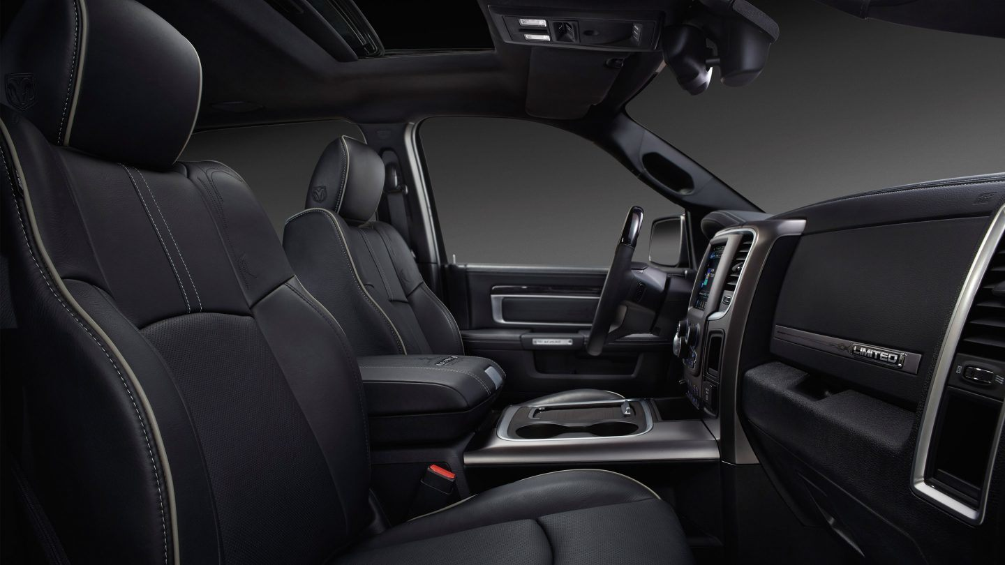 Interior of the 2019 Ram 2500