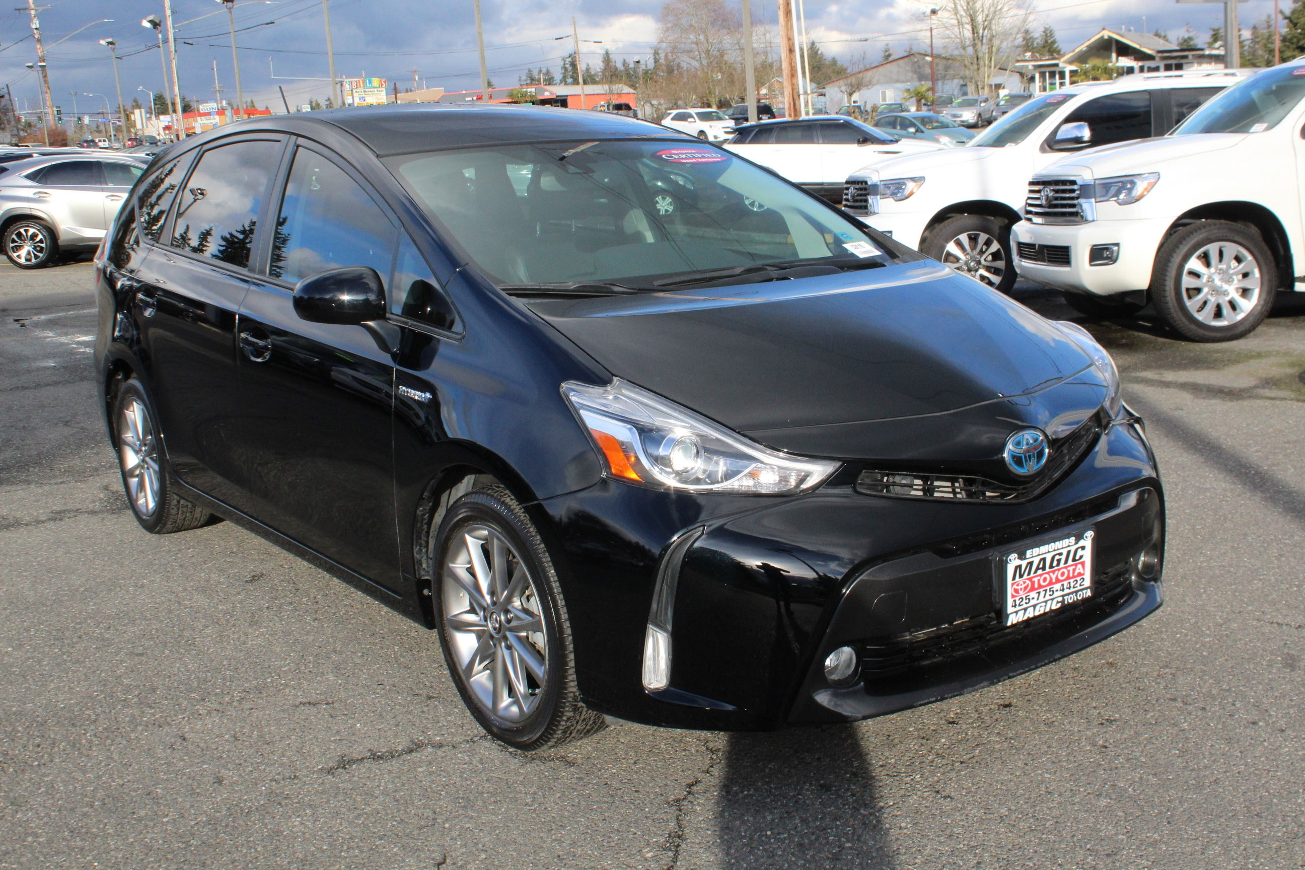 Used Prius V >> One Owner Used Toyota Prius V Overview Magic Toyota