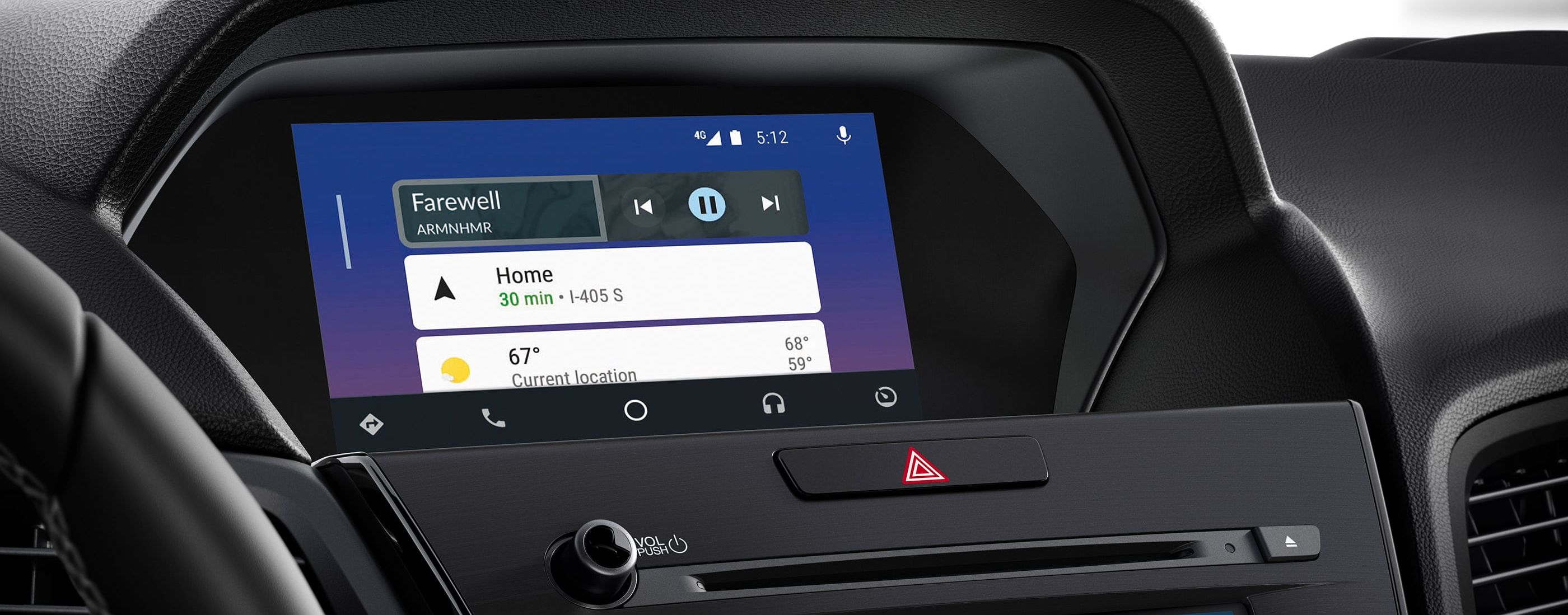 The ILX's Sleek Dashboard Display
