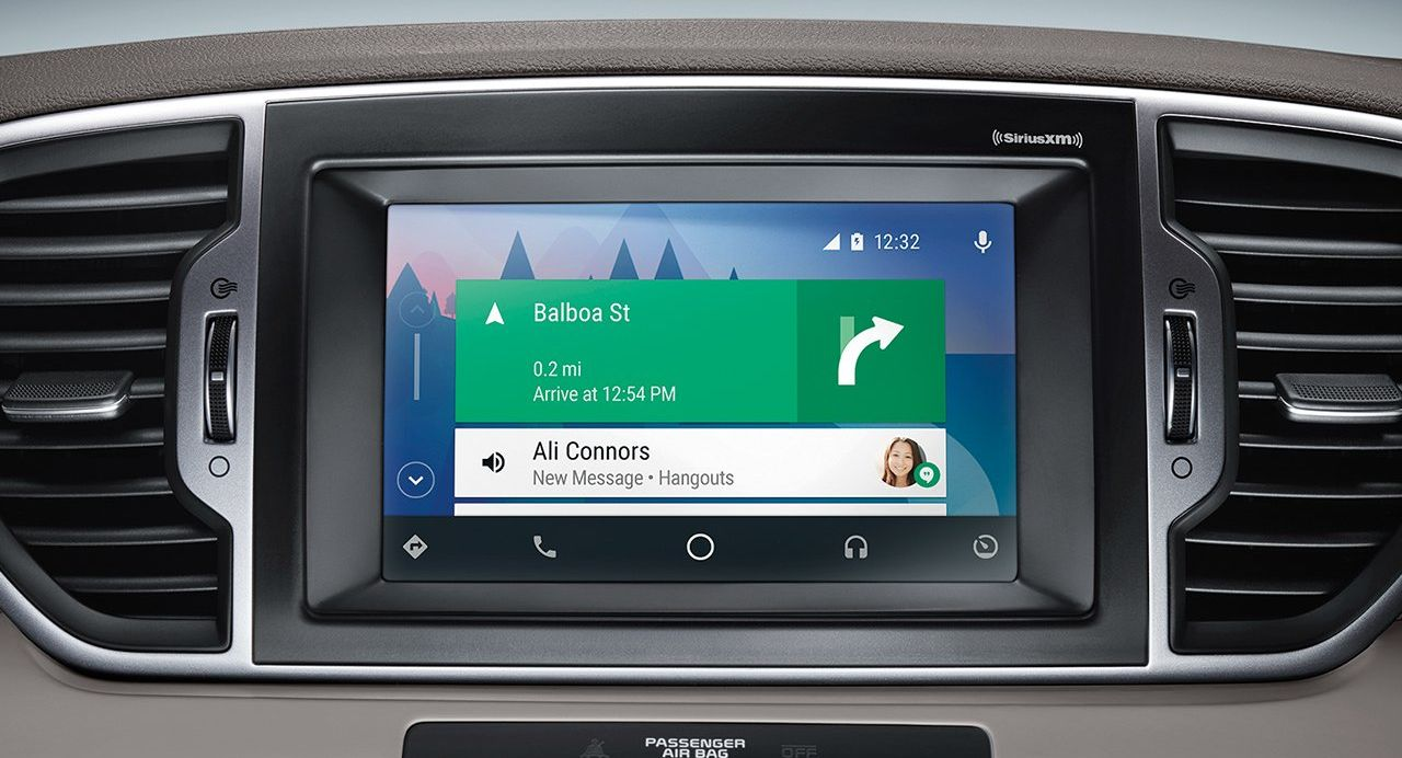 Android Auto in the 2019 Sportage