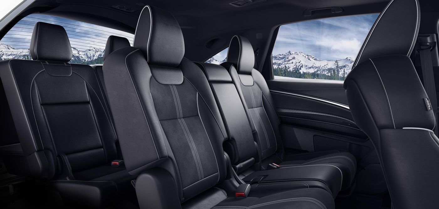 The Spacious Interior of the 2019 Acura MDX