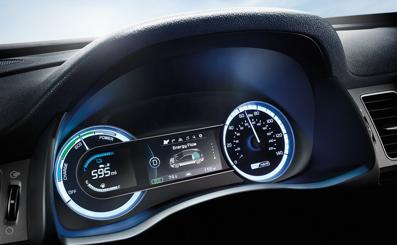 2019 Kia Niro Infotainment Center