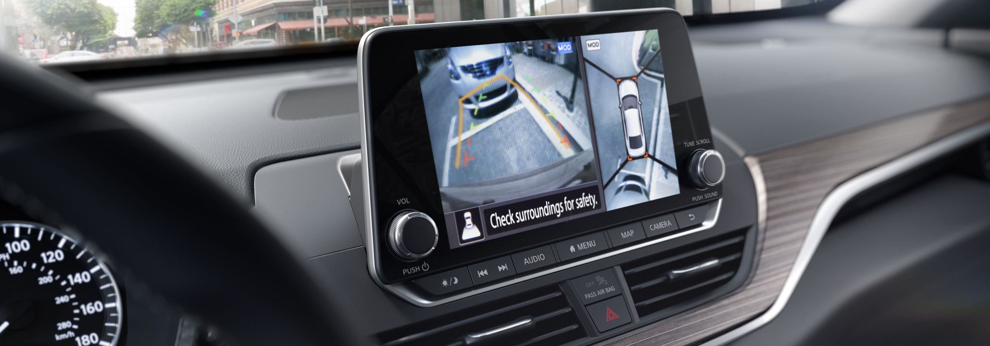 Safety Features in the 2019 Altima