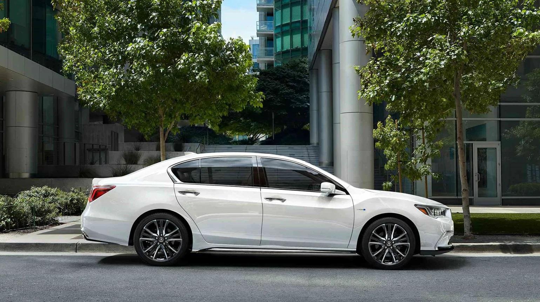 Acura RLX Sport Hybrid 2019 en Platinum White Pearl