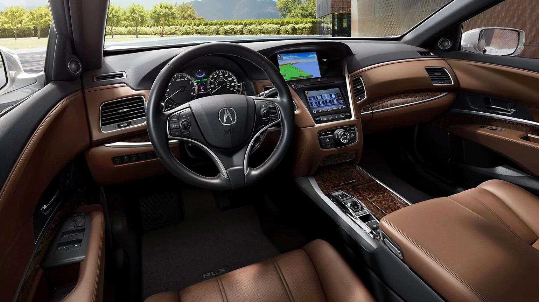 Acura RLX P-AWS® 2019 con interior de color Espresso