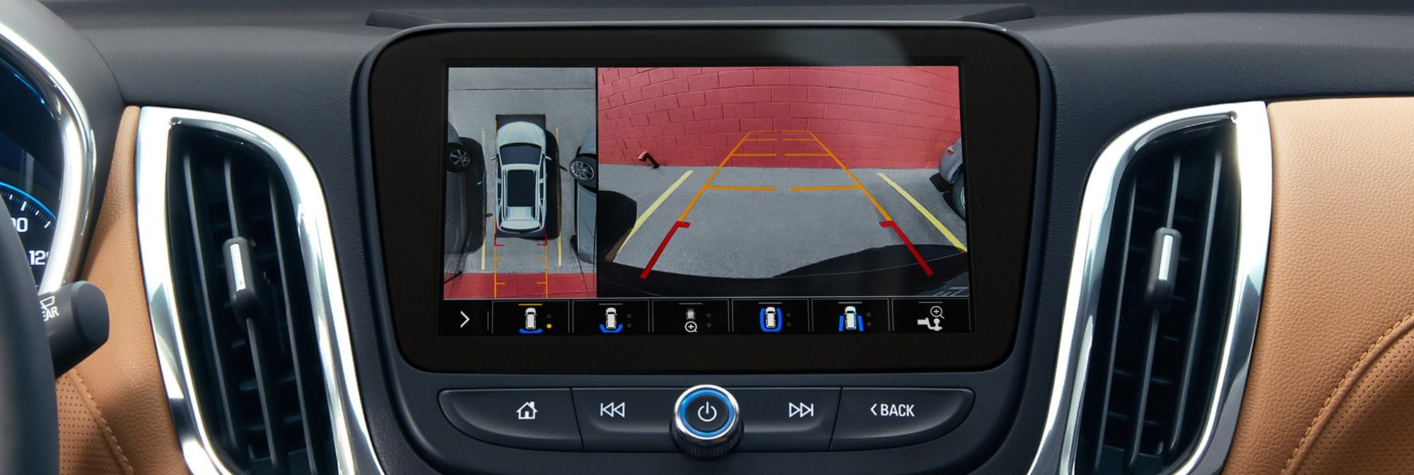 Rear Vision Camera in the 2019 Equinox
