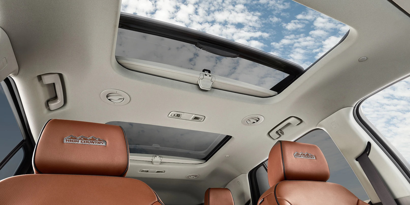 Enjoy Some Fresh Air in the Traverse While Cruising!