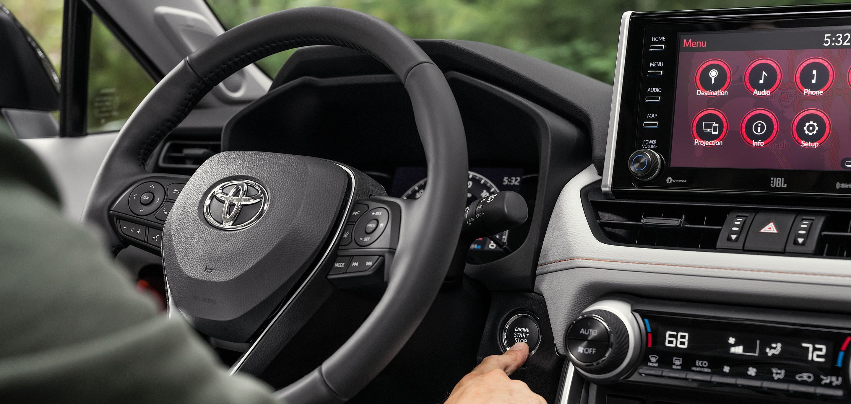 Unleash the 2019 RAV4 with One Touch