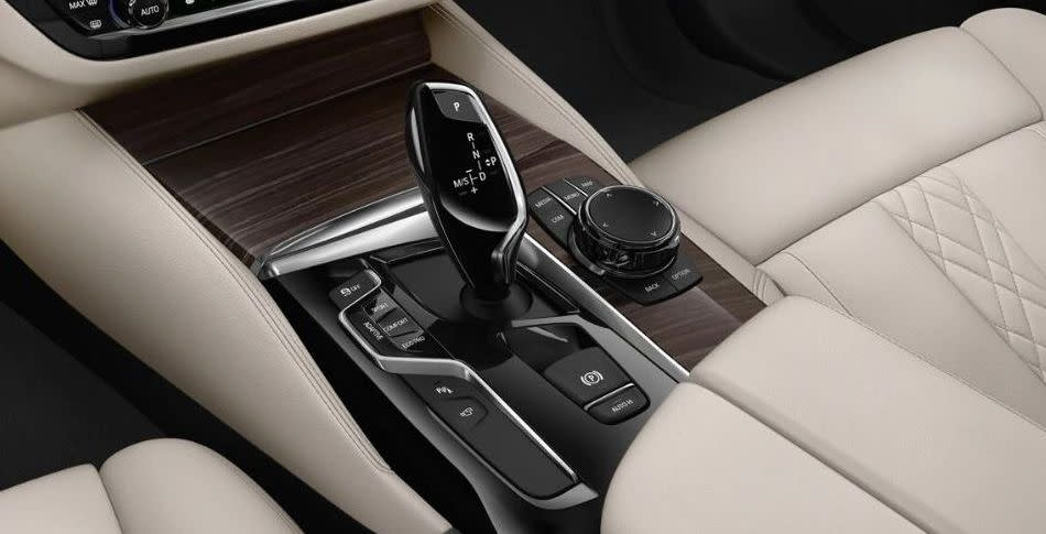 BMW 5 Series Gearshift