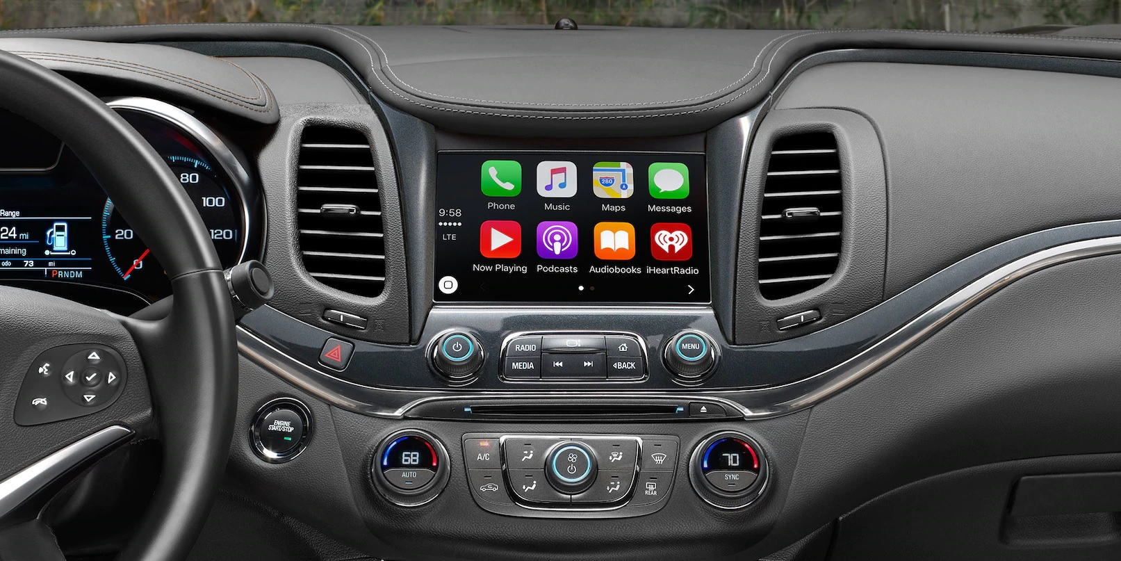 Access All Your Technology Quickly in the Impala!