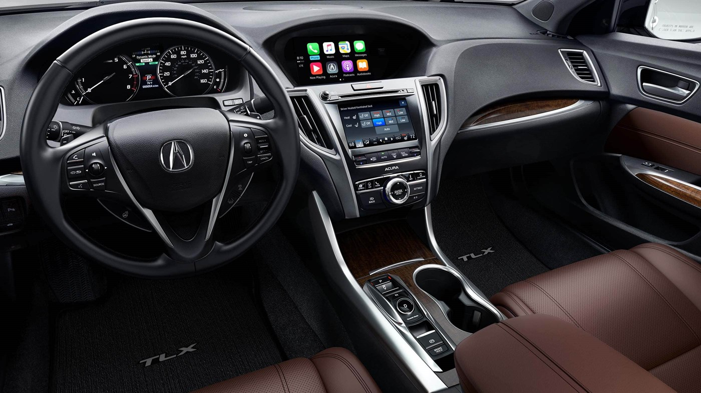 Interior of the 2019 Acura TLX