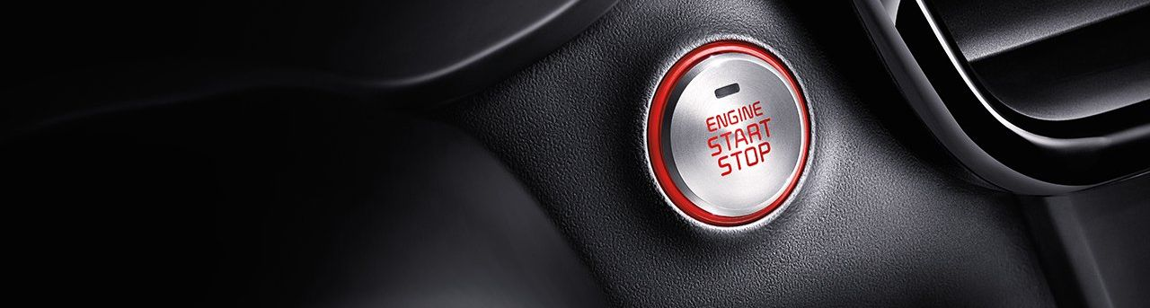 Push Button Start in the 2019 Optima